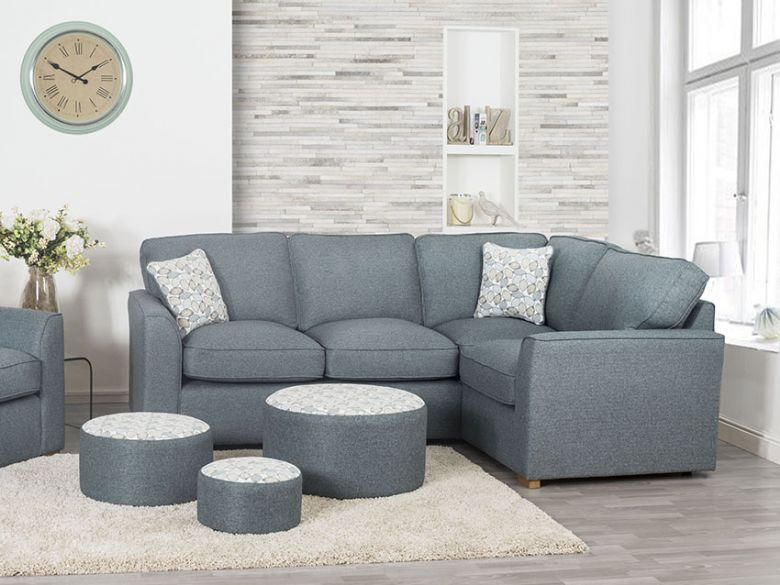 Carney modern fabric sofa collection