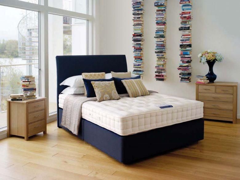 Hypnos new orthocare 6 lee longlands for Bedroom divan