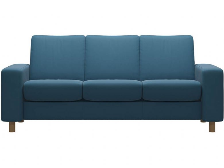 Stressless Arion Low Back in Crystal Blue