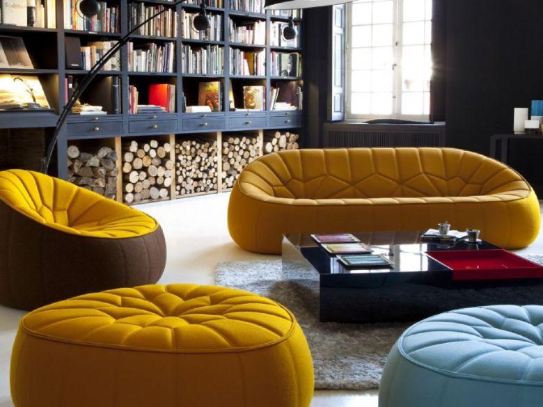 Sofas & Chairs > Fabric Sofa Ranges > Ligne Roset Ottoman